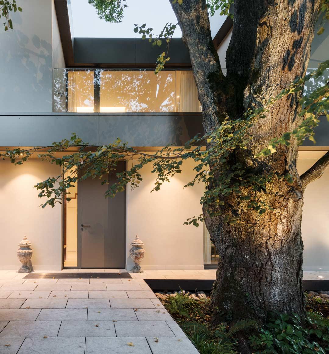 Baurealisation-Zuerich-Kuesnacht-Fassade