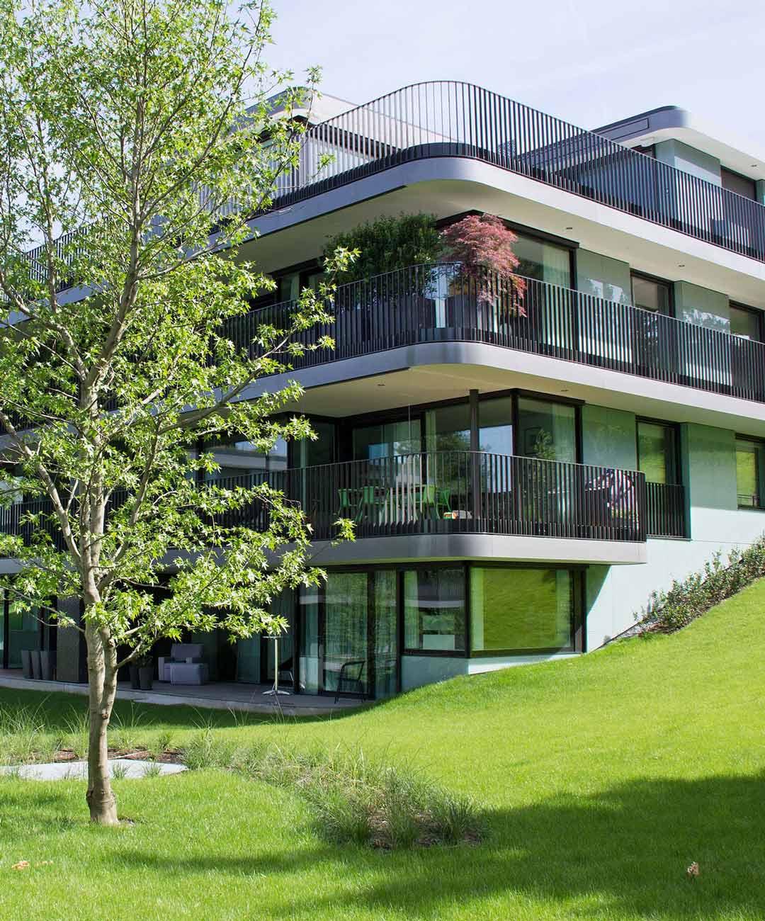 Totalunternehmung-Hamberberger-park-Zuerich-Fassade