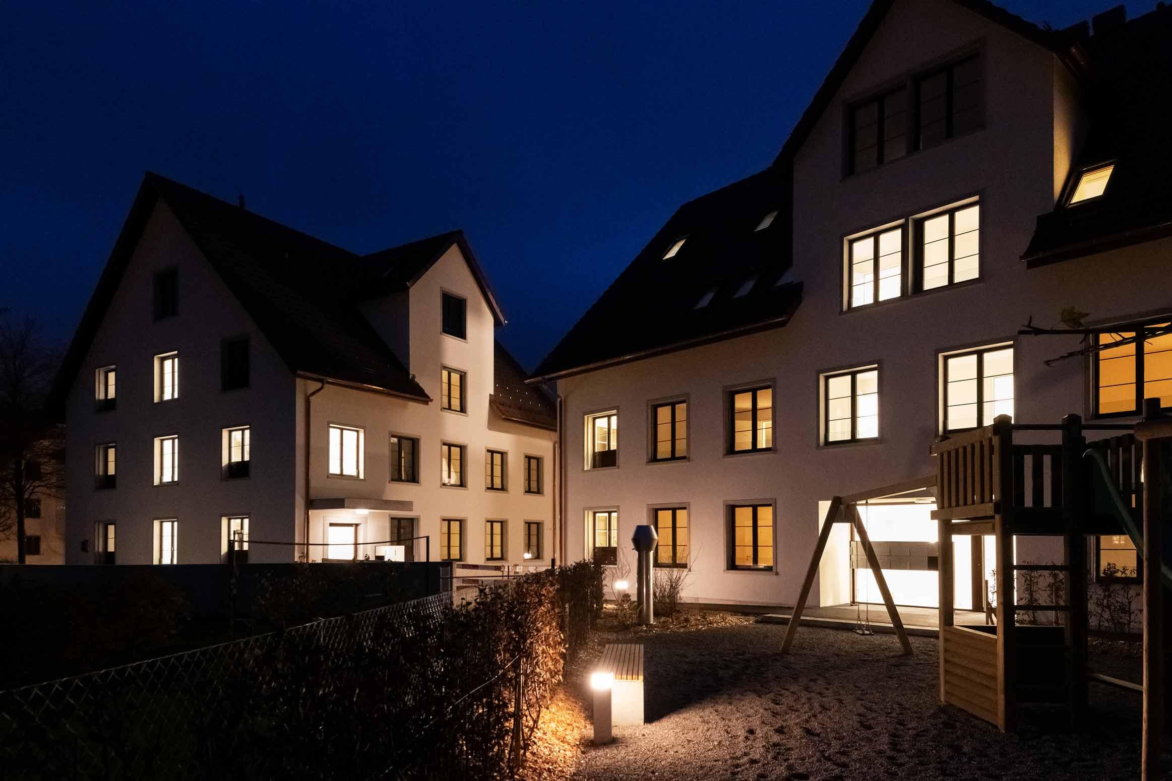 Baumanagement am Dorfbach Dürnten Neubau-Sanierung Heimatschutz Werubau AG