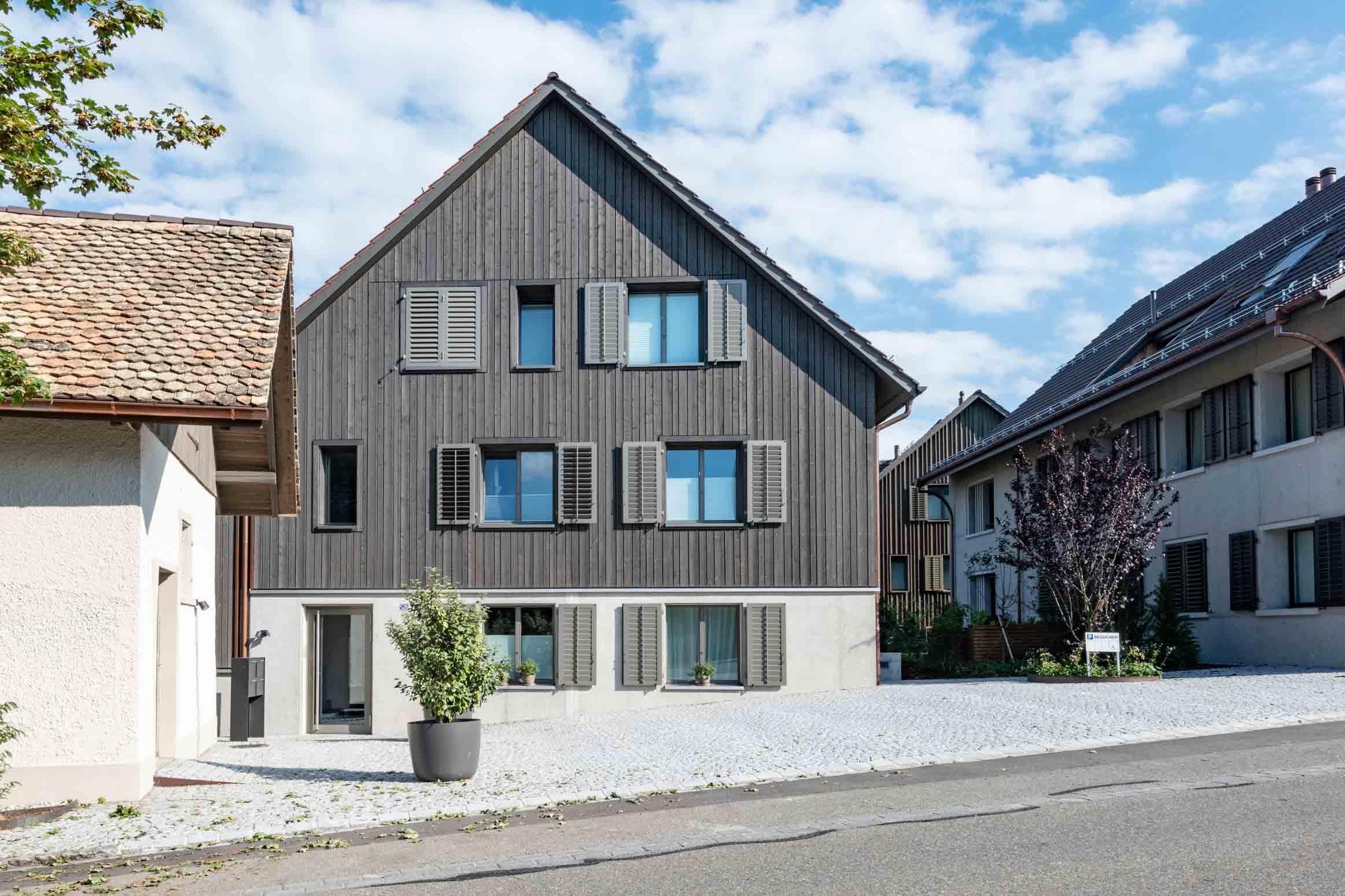 Baumanagement im historischen Weiler Limberg Küsnacht Werubau AG