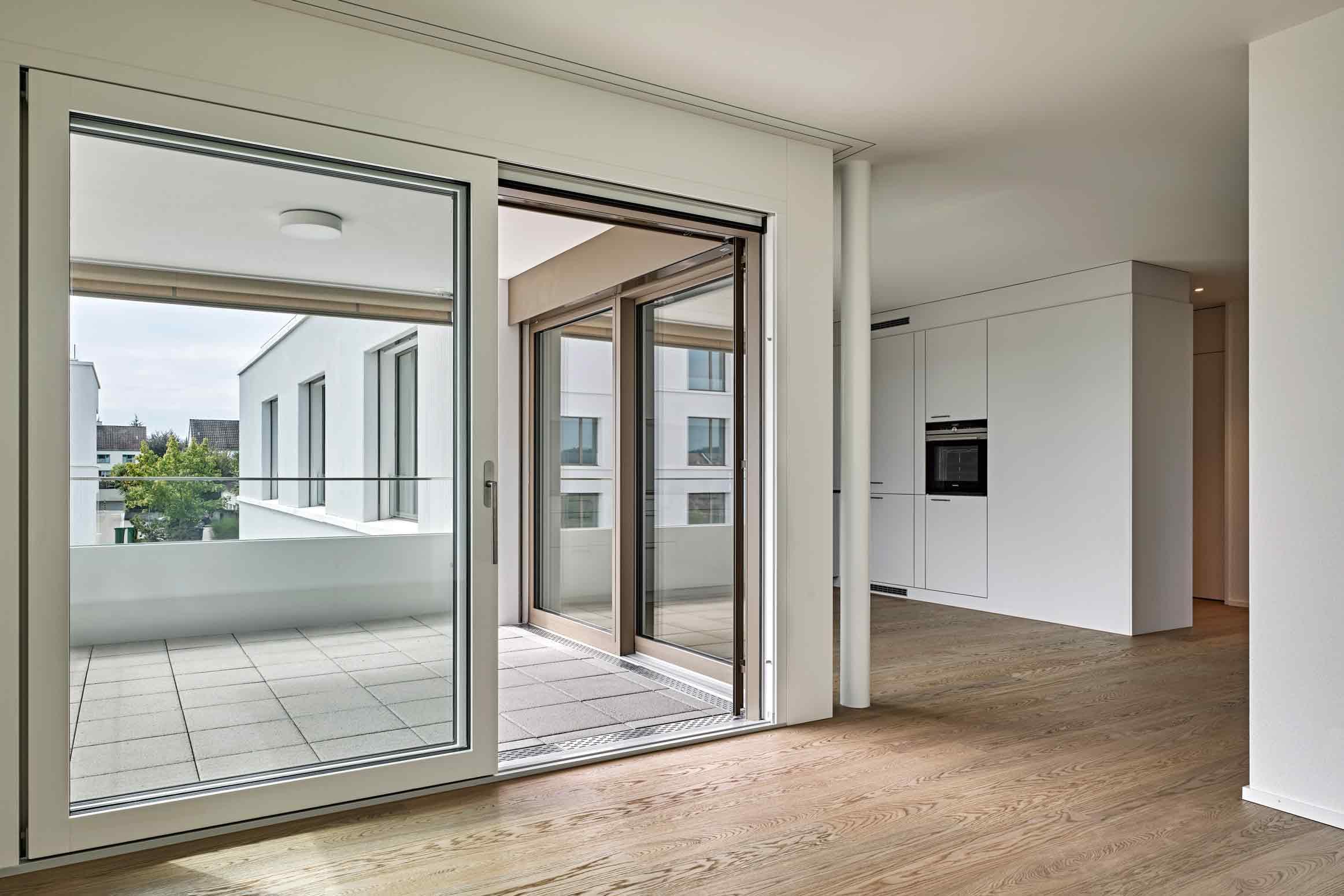 Baumanagement Werubau AG Mietwohnungen von CH Frei Architekten Wohnraum