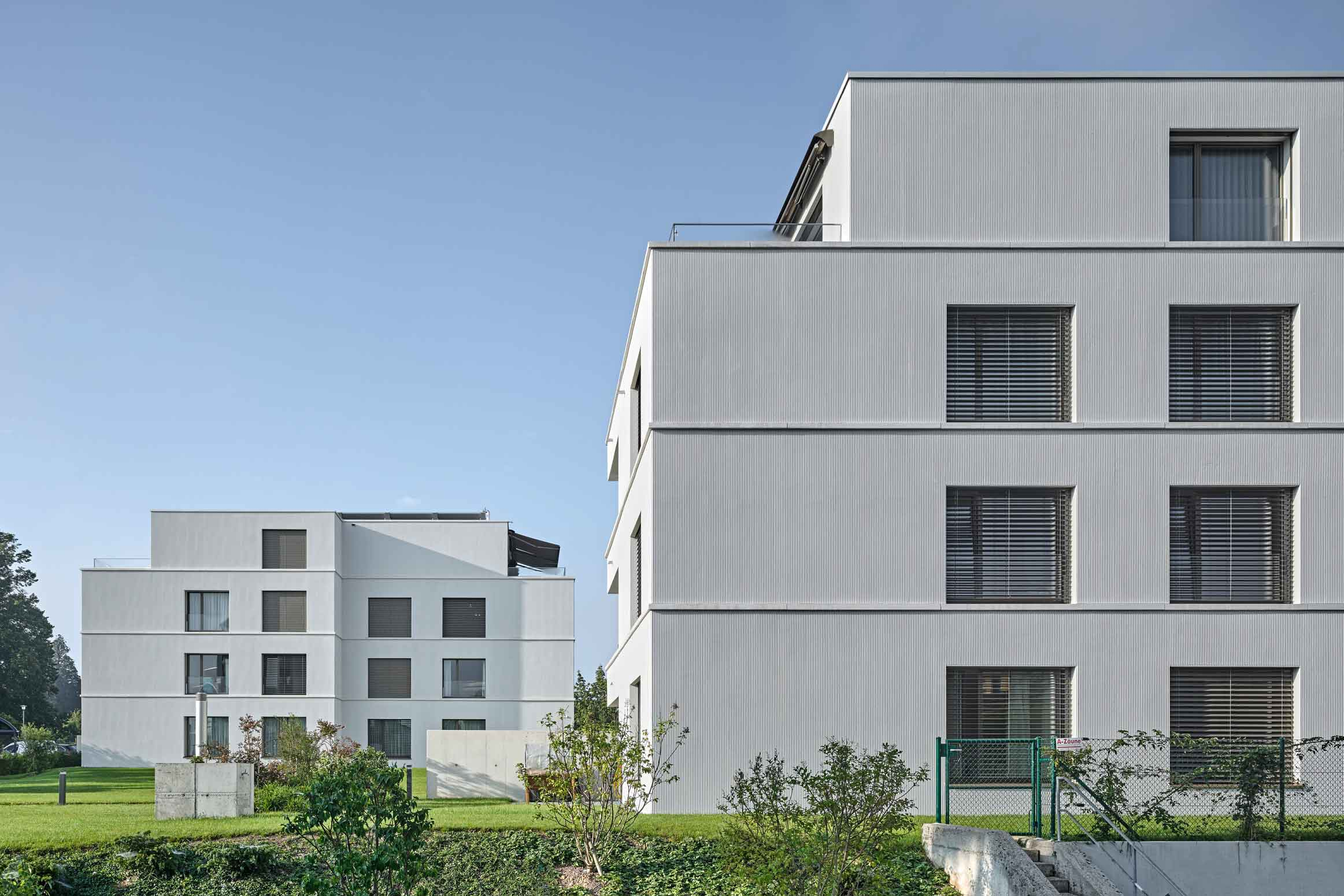 Baumanagement Werubau AG Mietwohnungen von CH Frei Architekten
