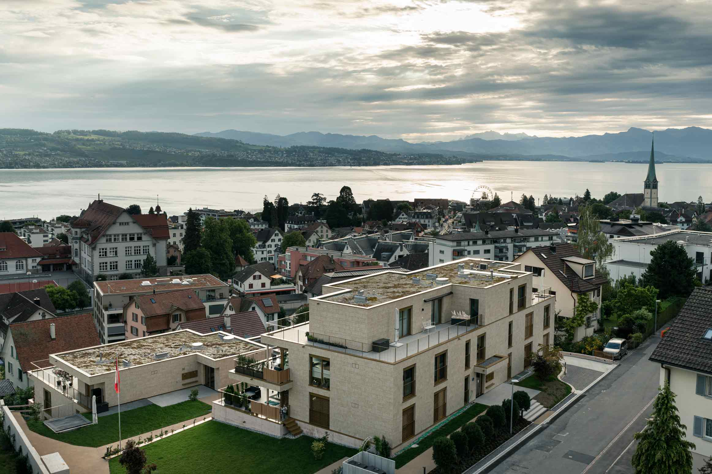 Neubau Mehrfamilienhaus Wädenswil Totalunternehmung Werubau AG