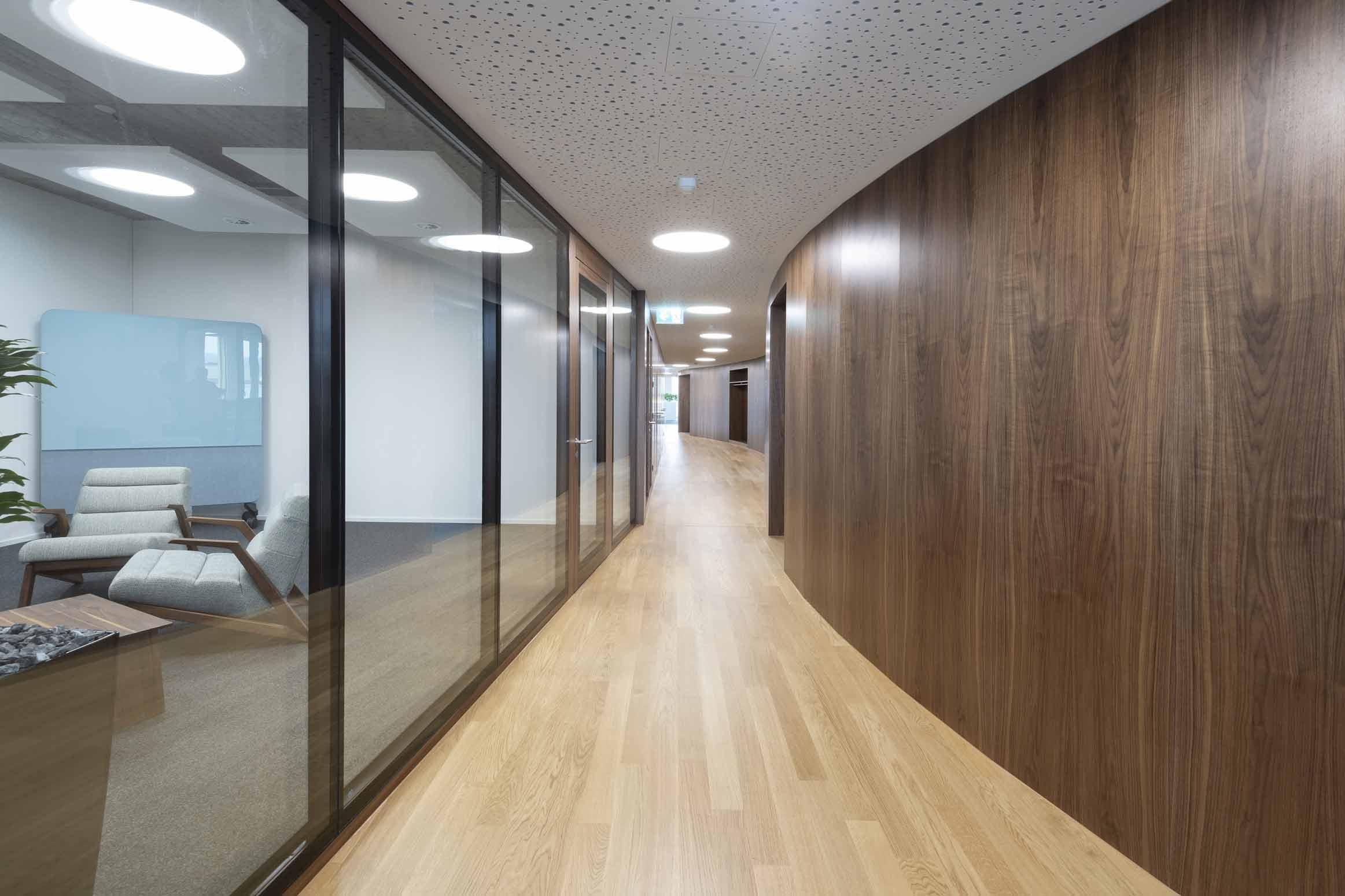 Baumanagement für VSSM Wallisellen, Innenausbau CH Architekten